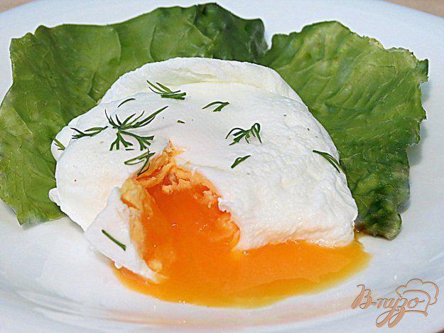 Яйца пашот за 1 минуту