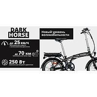 Обзор электровелосипеда VITYAS Dark Horse модели EHB 20-102