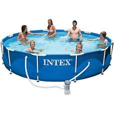 Бассейн INTEX Metal Frame 366х76 56996/28212