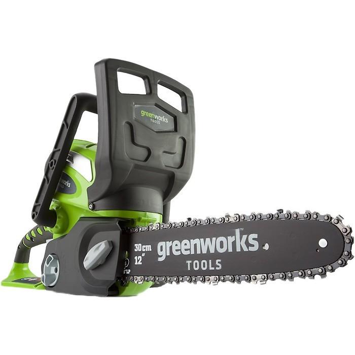 Аккумуляторная цепная пила Greenworks G40CS30 [20117]