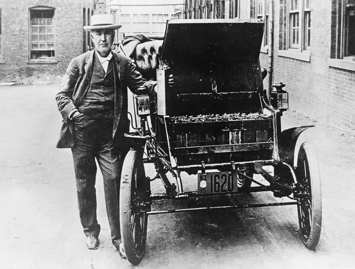 Первый электромобиль