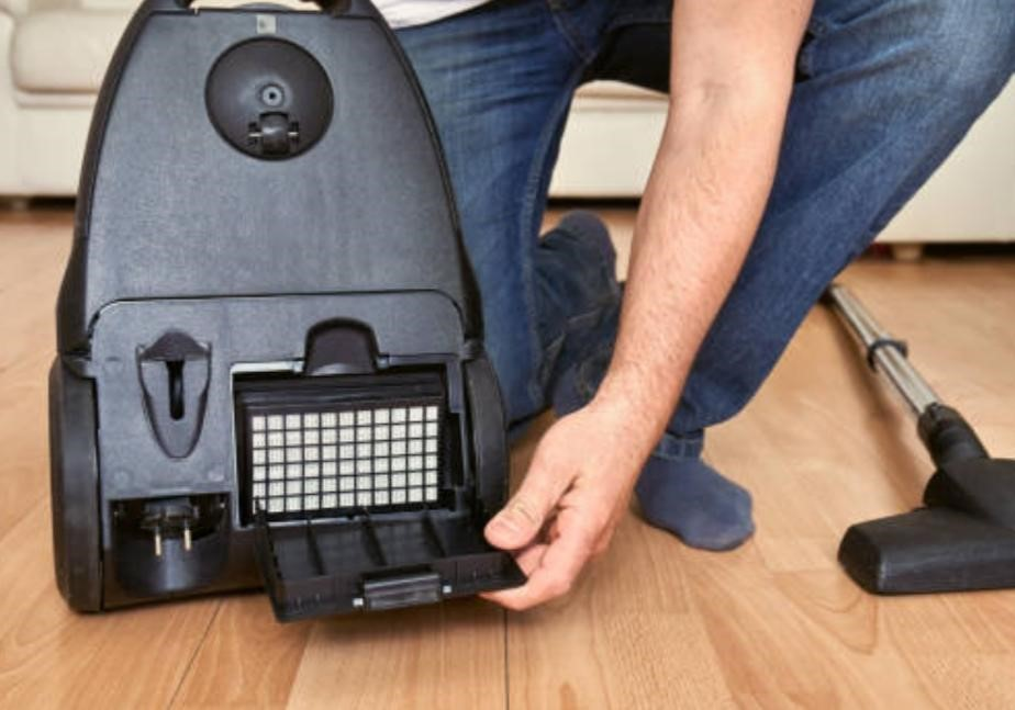 Очистка моторного фильтра в пылесосе