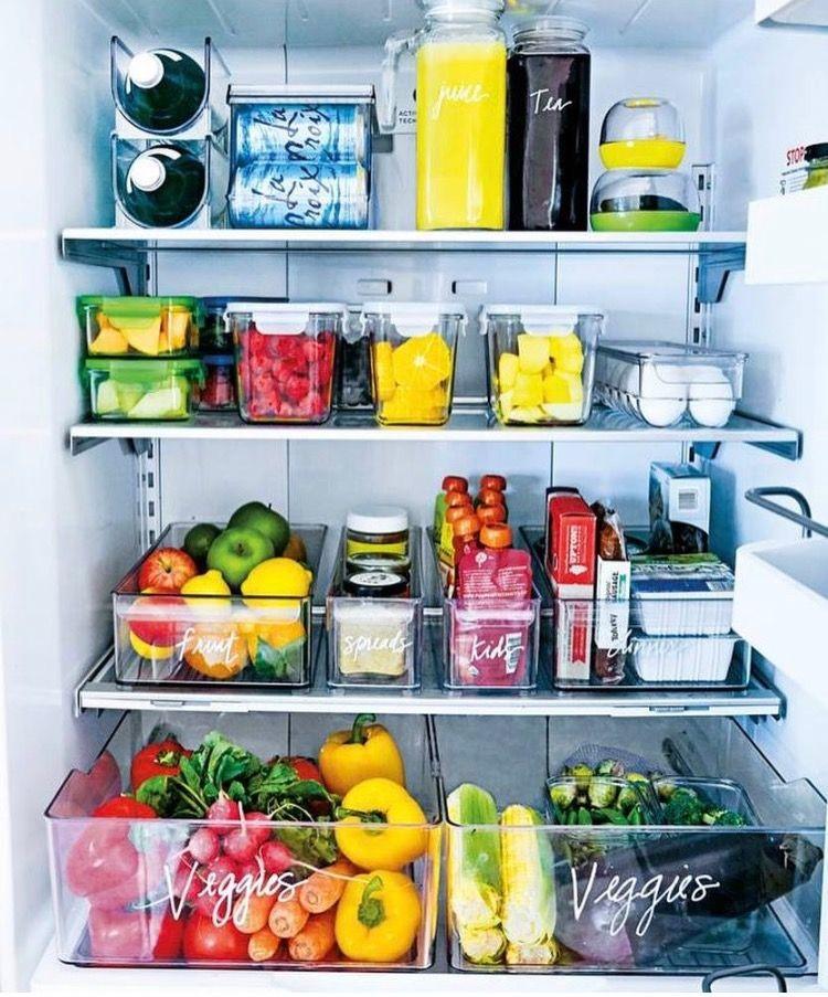 провиант в холодильнике