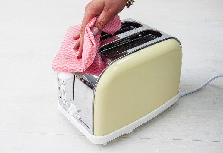 Протираем тостер
